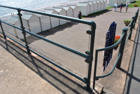 metal handrailings